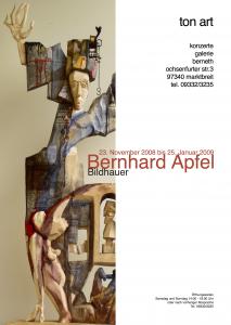 08tonart Plakat Bernhard Apfel