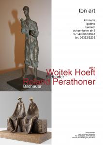 12tonart Ausstellung Perathoner, Hoeft