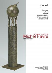 10tonart Plakat Michel Favre 4 weiß 2
